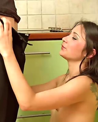 Horny French Couple Having Fun