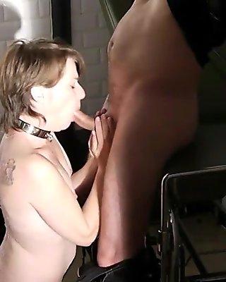 french sex slave blowjob