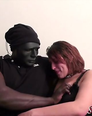 Mirah et mamadou duo interracial