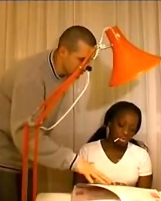 French black girl sodomised by tutor