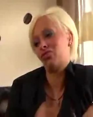 Sexy Blonde MILF First Porn-More on casting-couch.ml