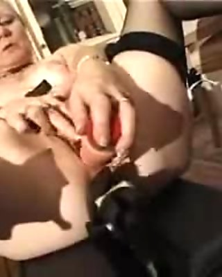 french shaved blonde granny pt11