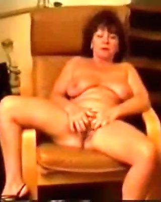 Chair masturbation of French carla  yearsp
