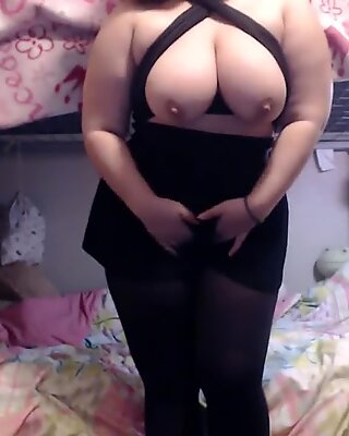 PAWG Strips, Spanks, and Teases For You