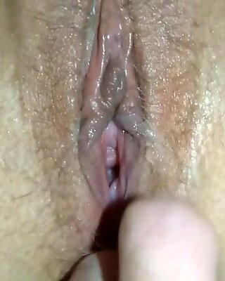 fucking my whore wife cum in my mouth