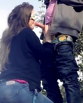 Sucked on the Road & Outdoor Quickie