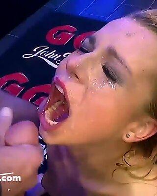 Ultimate pop-shot compilation - German Goo femmes