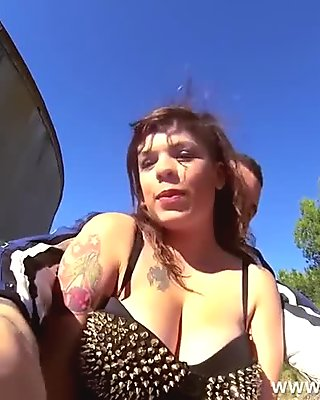 Anal riding on a quad