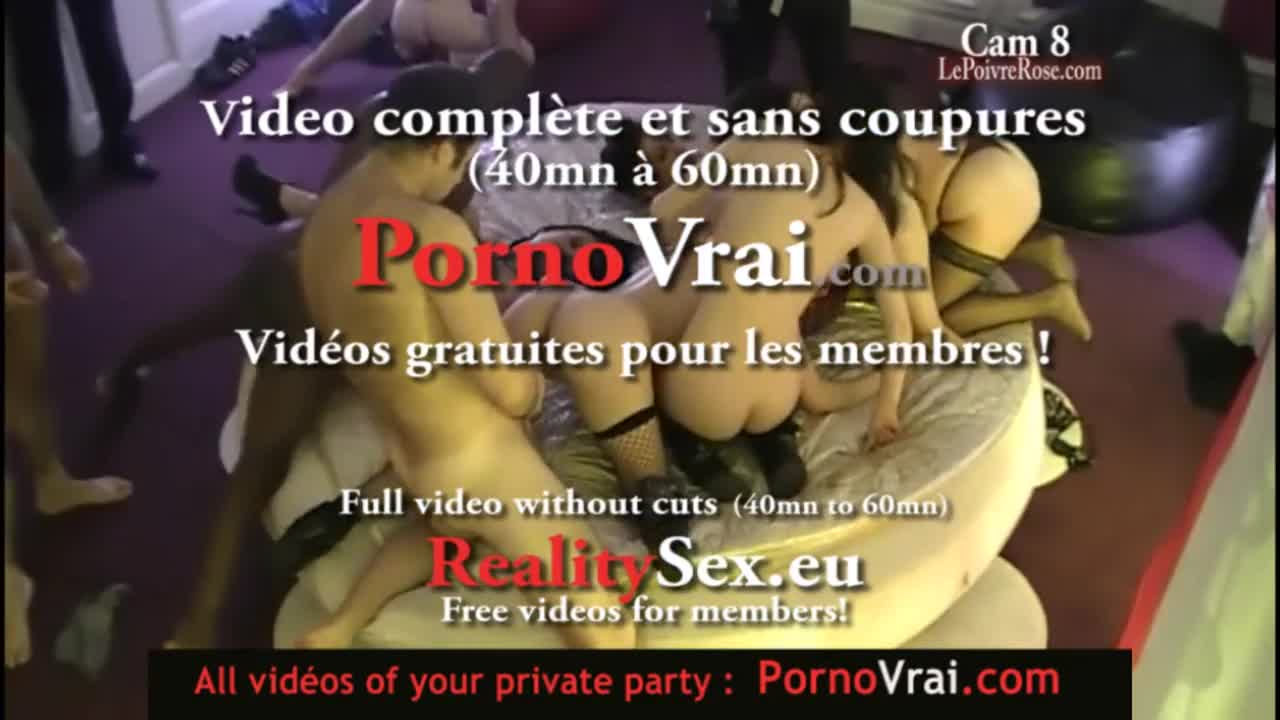 Camera espion en soiree privee ! French spycam265