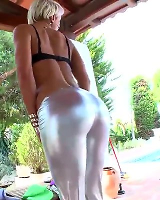 Her beautiful ass in POV