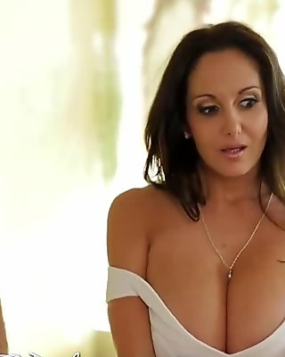 HD PureMature - Ava Addams massive rack gets her guy hard