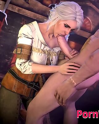 Lovely Video Games Sluts Gets a Huge Fat Cock in Their Little Mouth