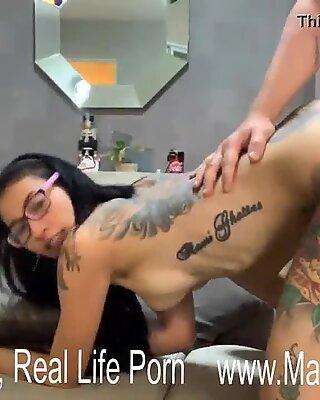 Hardcore Sex Position with Newcy Thai Tattoo Slut